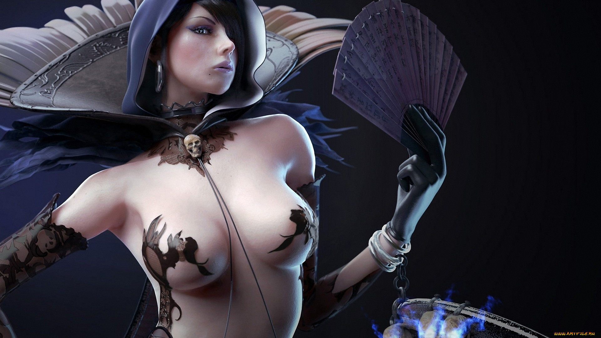 Nude fantasy mage sex females